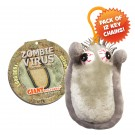 Zombie Virus Key Chain 12 Pack