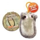 Zombie Virus Key Chain 12 Pack