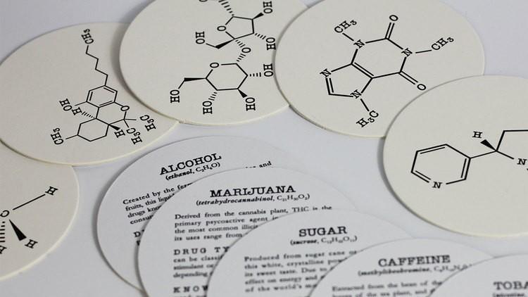 Addiction Coasters