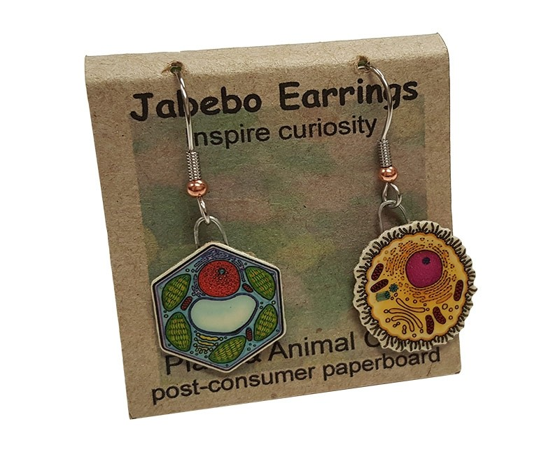 Animal Plant earrings