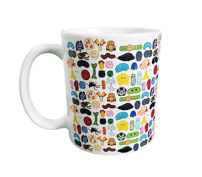 GIANTmicrobes Art mug front