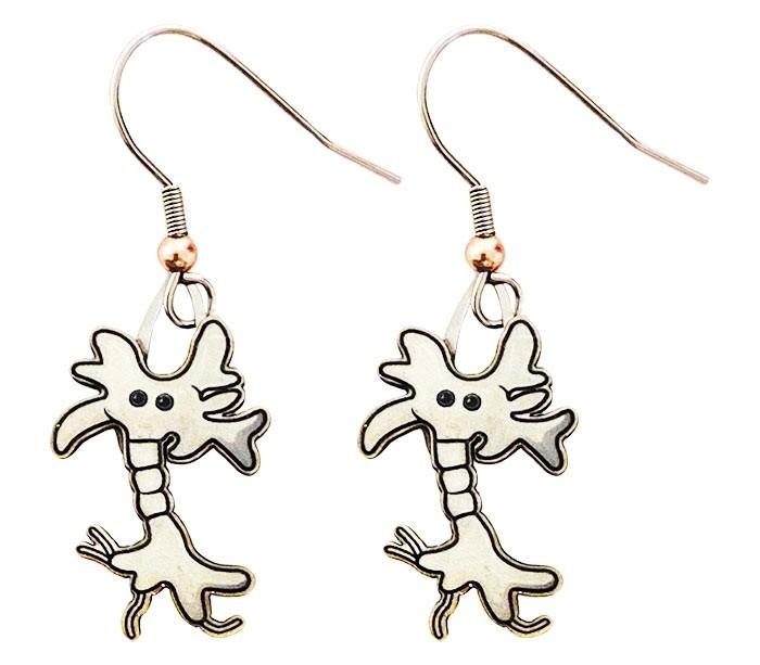 Brain Cell earrings