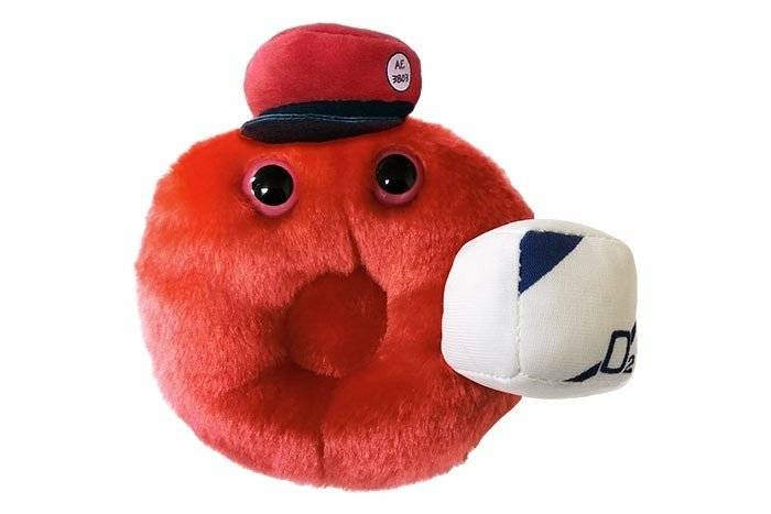 Cells at Work Red Blood plush doll