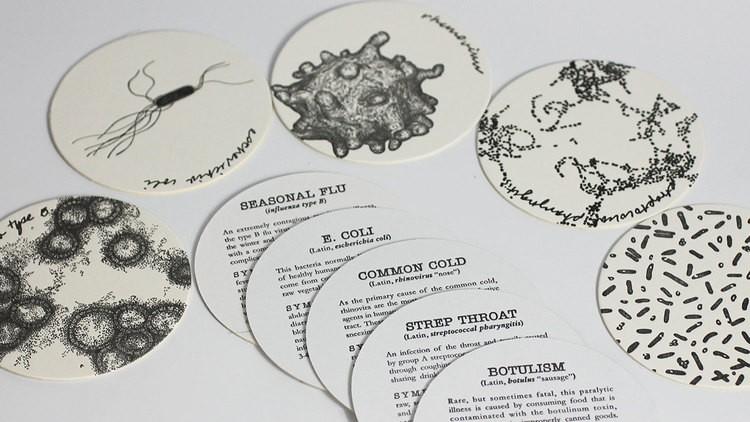 Contagion Coasters