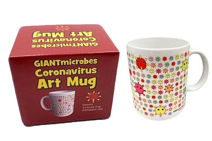 Coronavirus art mug