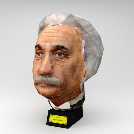 Einstein 3D puzzle