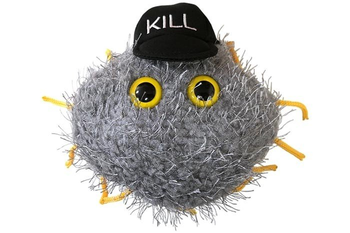 Cells at Work! Killer T plush doll