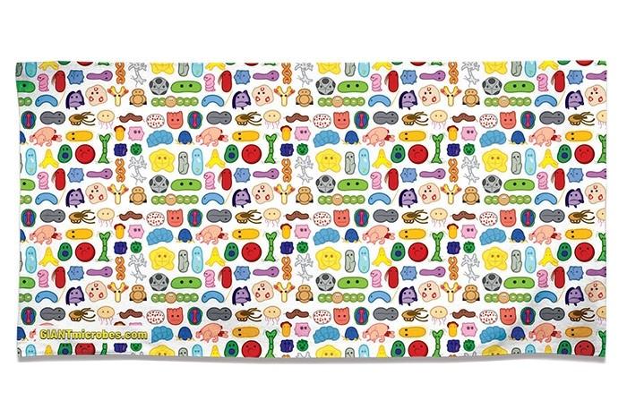 Microbes Towel