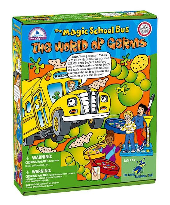 Magic School Bus box