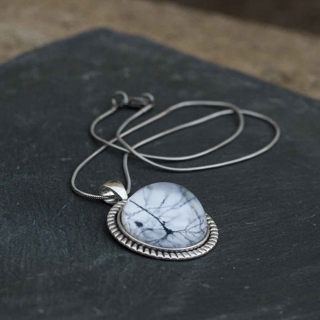 Neuron dome necklace