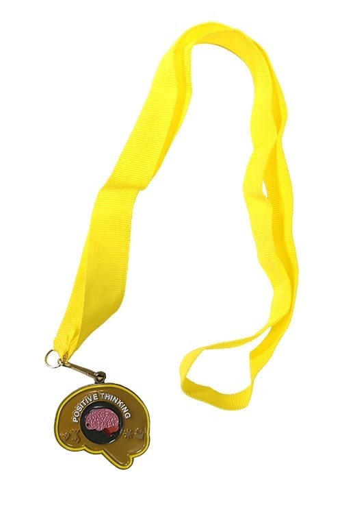 Positive Thinking medal close-up