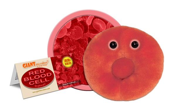 Red Blood Cell plush