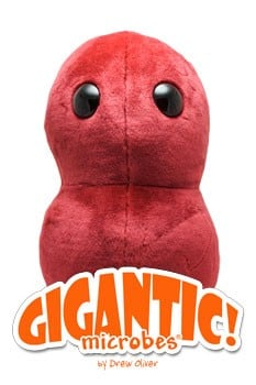 Sore Throat (Streptococcus) Gigantic doll