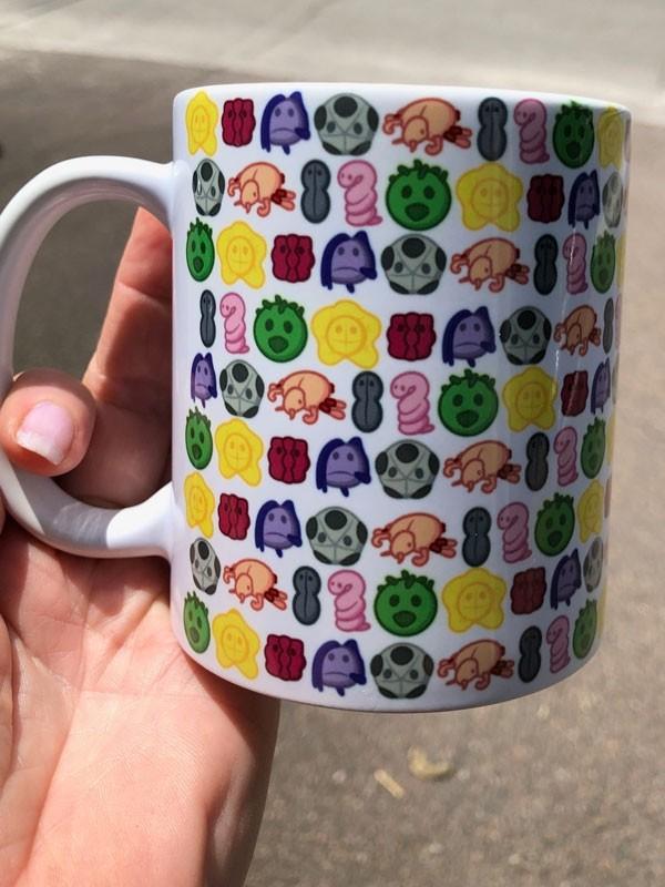 STD art mug front