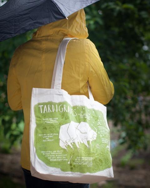Waterbear tote bag