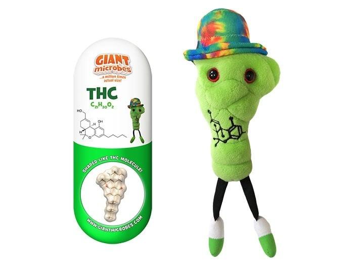 THC plush doll