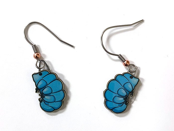 Waterbear earrings