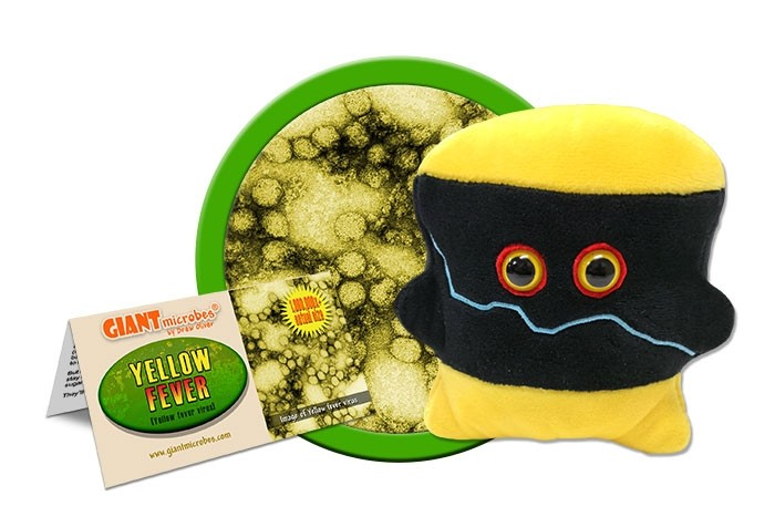Yellow Fever plush doll