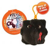 HIV Key Chain 12 Pack