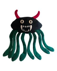 Evil E. coli plush doll