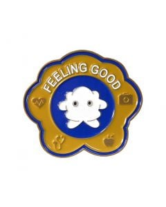 Feeling Good medal close-up