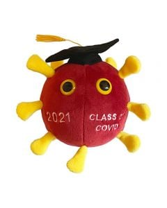 Graduation COVID 2021 plush doll