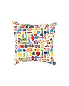 Microbes Art Pillow