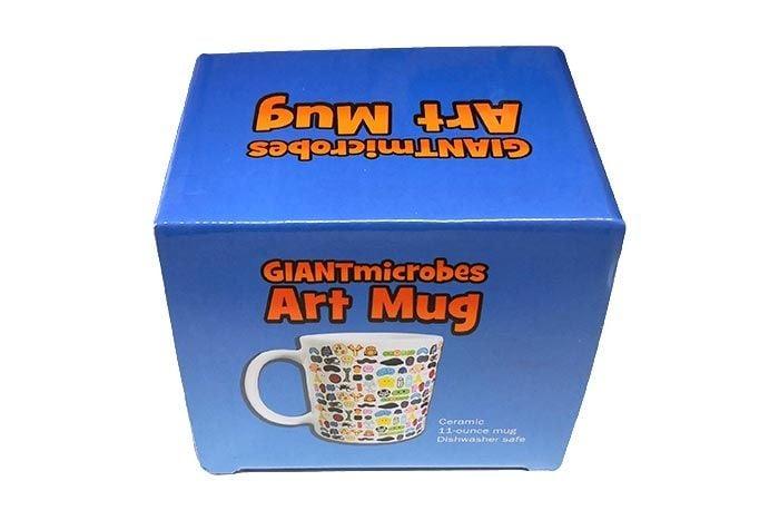 GIANTmicrobes Art mug box