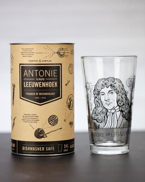 Leeuwenhoek glass and box