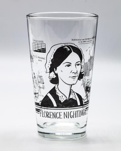 Florence Nightingale glass