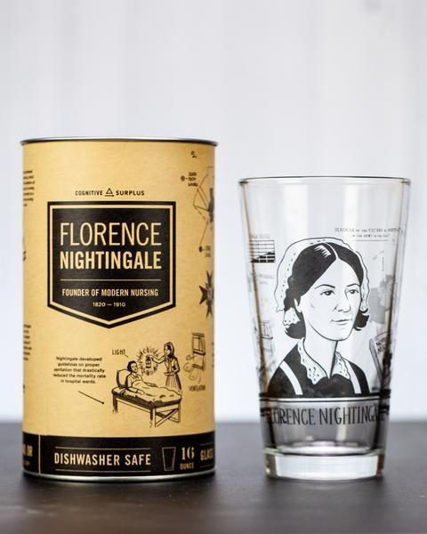 Florence Nightingale glass with box