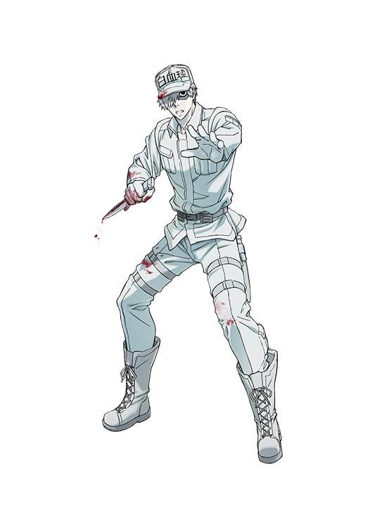 Cells at Work! White Blood character