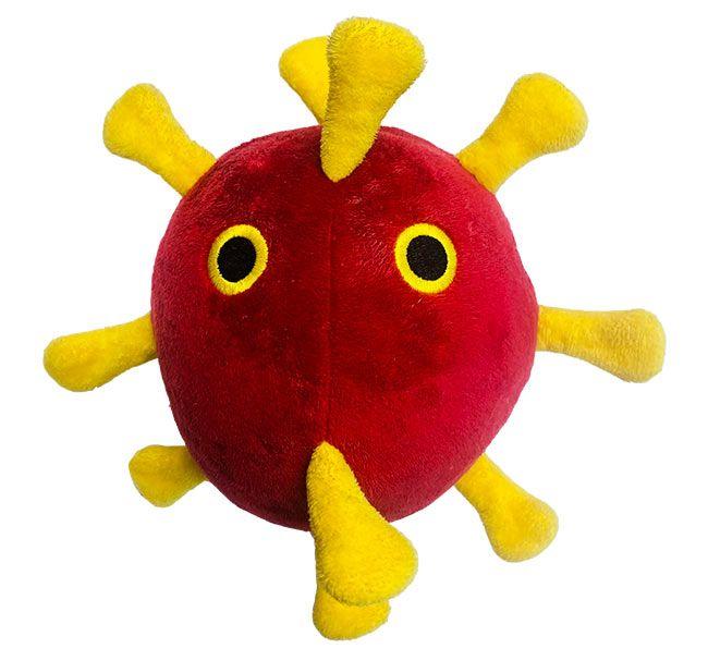 Coronavirus dog toy