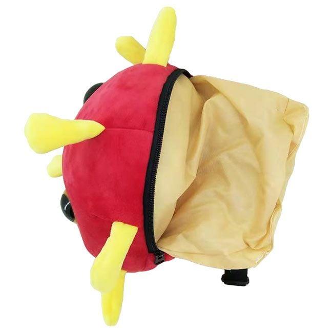 Coronavirus backpack inside