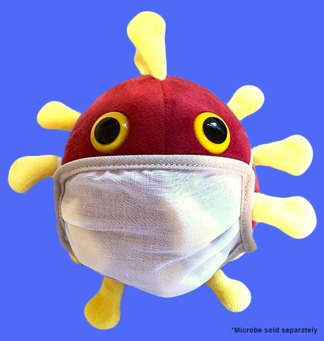COVID microbe mask