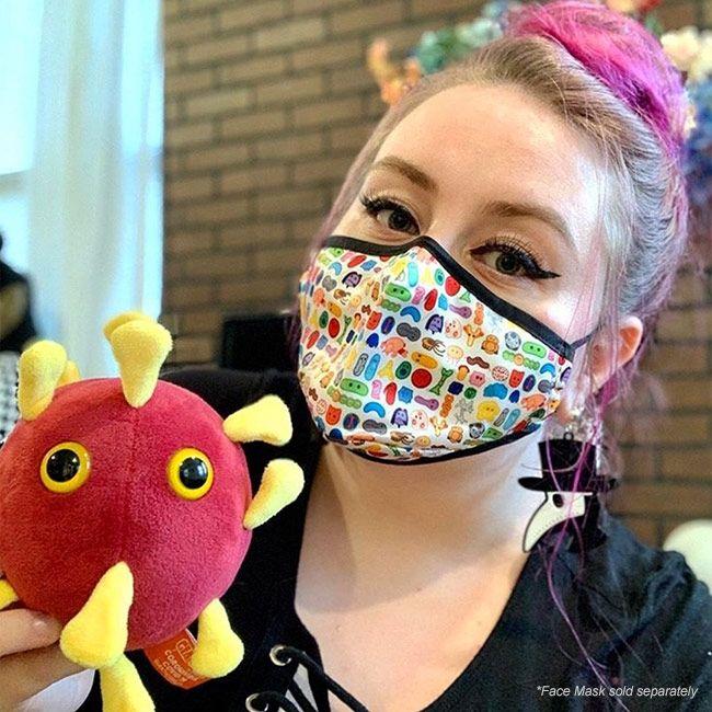 Coronavirus doll and mask