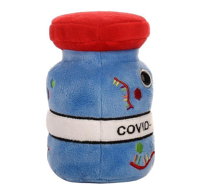 COVID Vaccine plush side