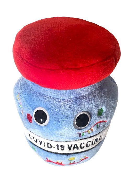 COVID vaccine plush top