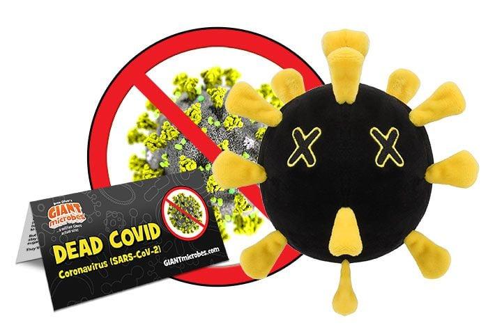 Dead Covid plush cluster