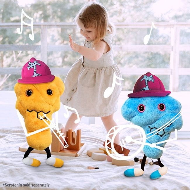 Dopamine and Serotonin with kid dancing