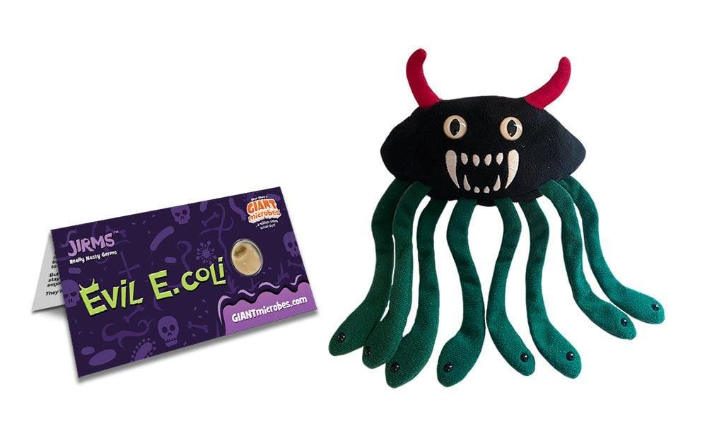 Evil E. coli with tag