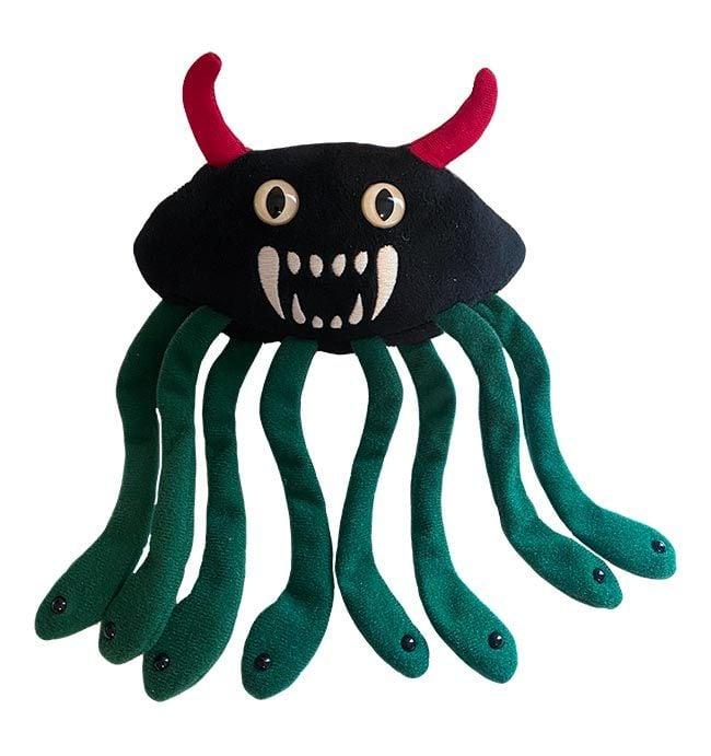 Evil E. coli plush doll