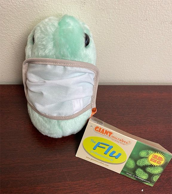 Microbe Mask Flu