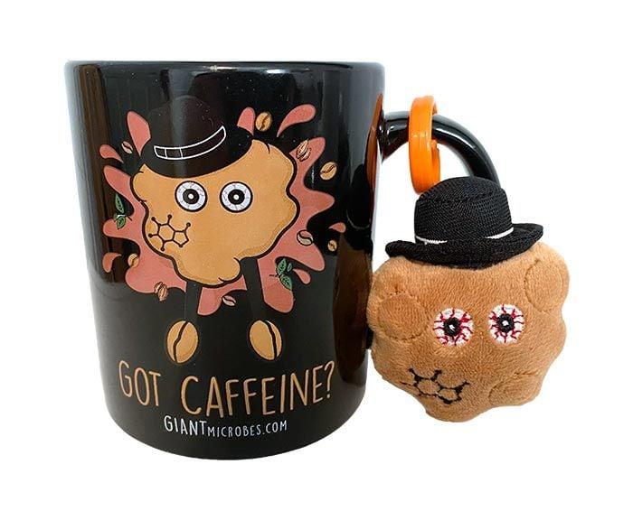 Got Caffeine mug with mini