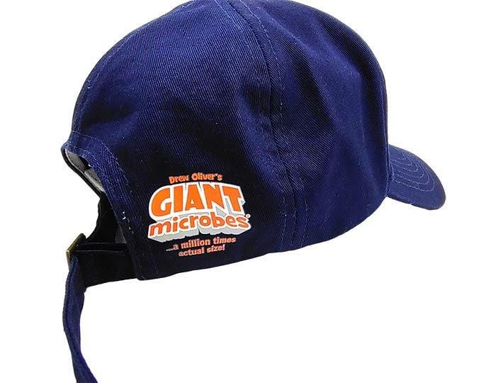 Got Antibodies? hat dark blue logo