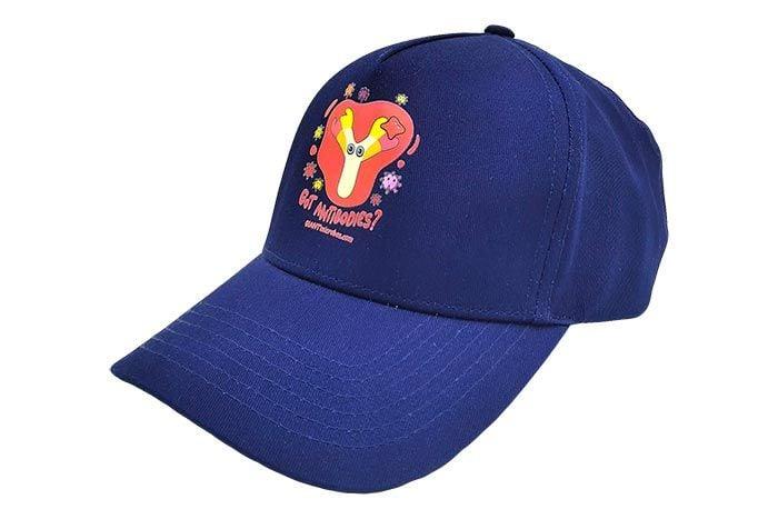 Got Antibodies? hat dark blue side