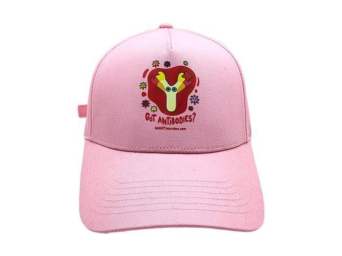 Got Antibodies hat pink front