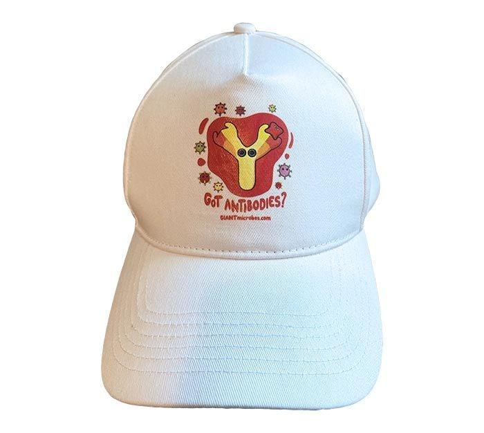 Got Antibodies hat white front