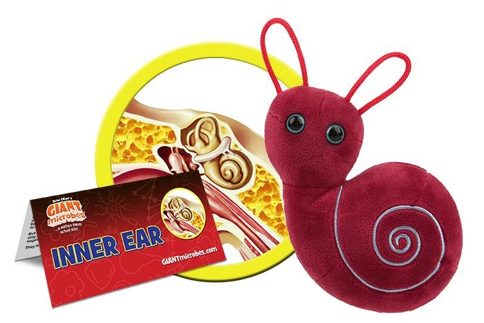 inner Ear plush cluster
