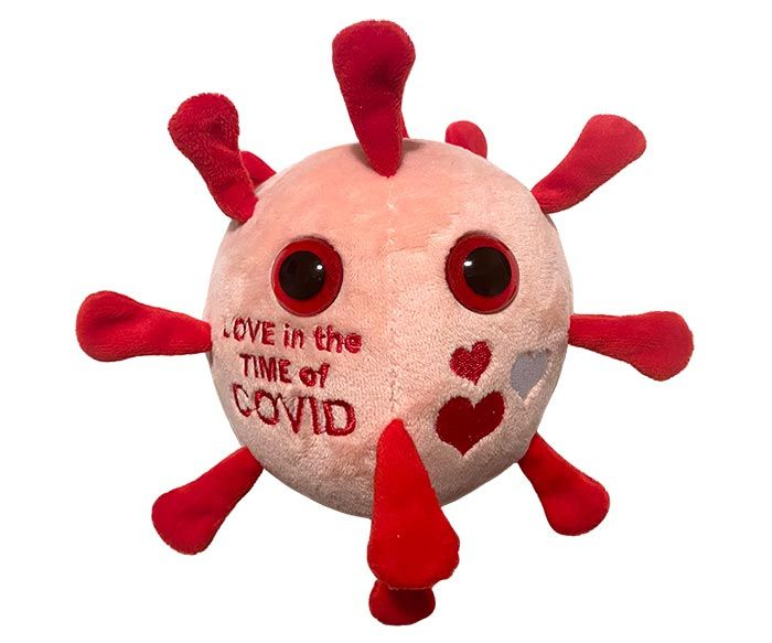 Love in the Time of COVID plush
